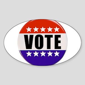 Vote Button Sticker