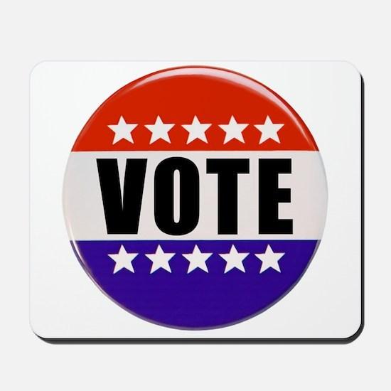 Vote Button Mousepad