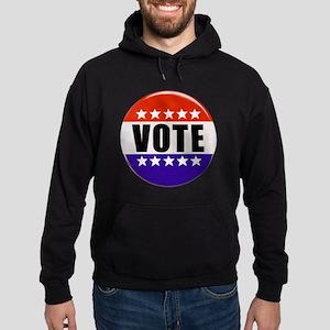Vote Button Hoodie