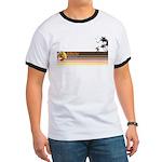Sasquatch Surf Shop Sunset T-Shirt