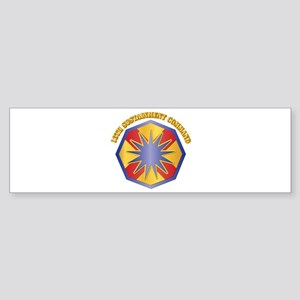 SSI - 13th Sustainment Command with Text Sticker (