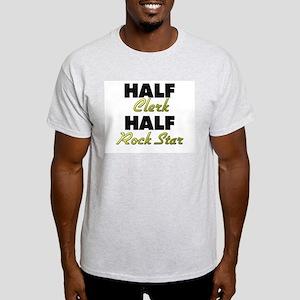 Half Clerk Half Rock Star T-Shirt