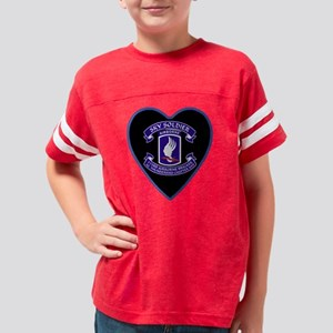 173d-Airb-AZ-Heart-neckles Youth Football Shirt