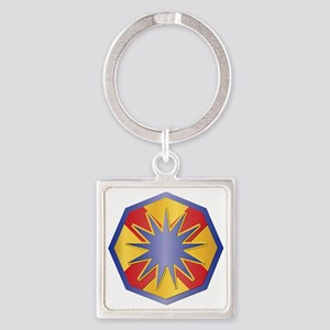 SSI - 13th Sustainment Command Square Keychain