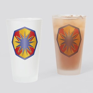 SSI - 13th Sustainment Command Drinking Glass