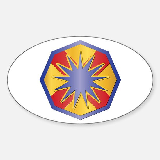 SSI - 13th Sustainment Command Sticker (Oval)
