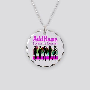 16TH NYC CHICK Necklace Circle Charm