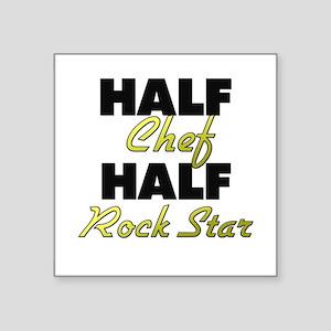Half Chef Half Rock Star Sticker