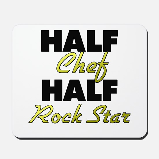 Half Chef Half Rock Star Mousepad