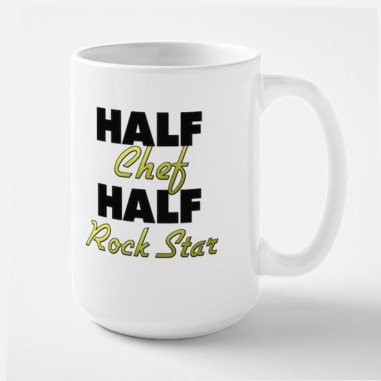 Half Chef Half Rock Star Mugs