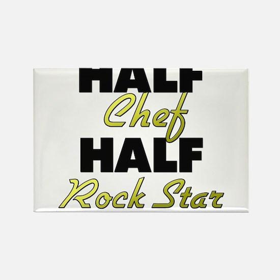 Half Chef Half Rock Star Magnets