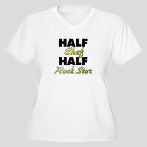 Half Chef Half Rock Star Plus Size T-Shirt