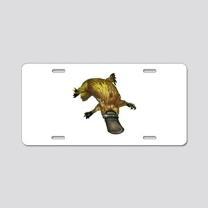 PLAY NATURED Aluminum License Plate