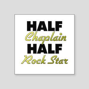 Half Chaplain Half Rock Star Sticker