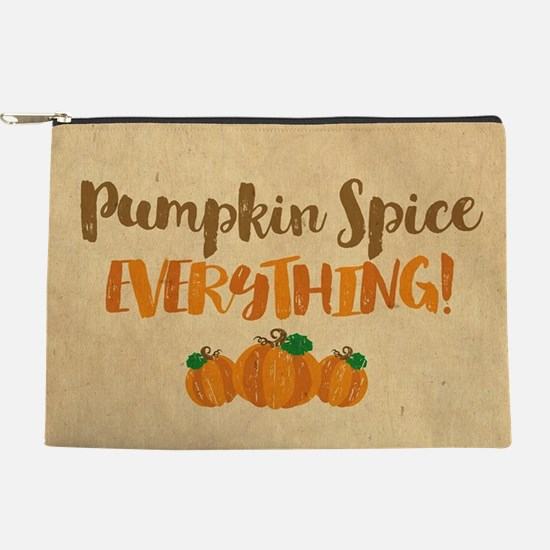 Pumpkin Spice EVERYTHING Makeup Pouch