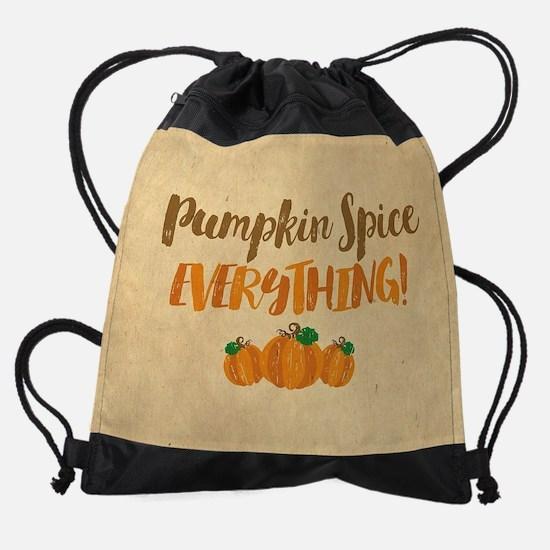 Pumpkin Spice EVERYTHING Drawstring Bag