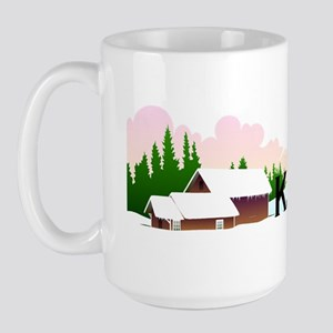 TOP Ski Kansas Large Mug