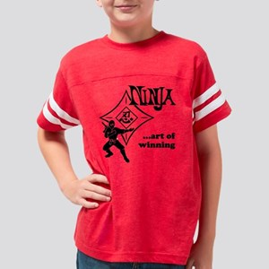 ninja_trans 10 10 reverse Youth Football Shirt