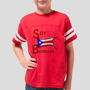 soy_boricua Youth Football Shirt