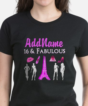 FRENCH SWEET 16 Women's Dark T-Shirt