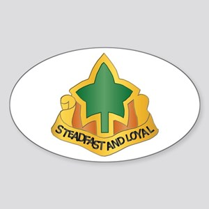 DUI - 4th Infantry Division Sticker (Oval)