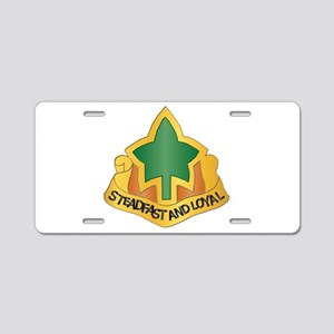 DUI - 4th Infantry Division Aluminum License Plate