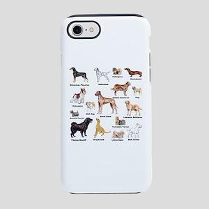 Dog Types iPhone 7 Tough Case