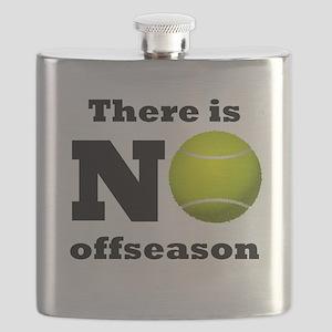 No Tennis Offseason Flask
