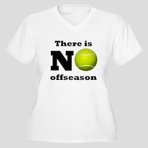 No Tennis Offseason Plus Size T-Shirt