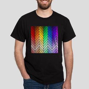 Rainbow Ombre Chevron T-Shirt
