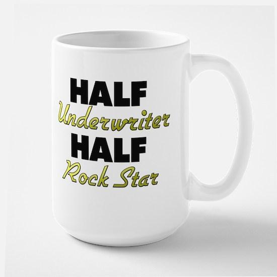 Half Underwriter Half Rock Star Mugs