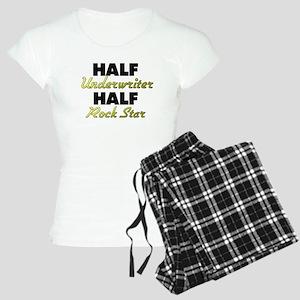 Half Underwriter Half Rock Star Pajamas