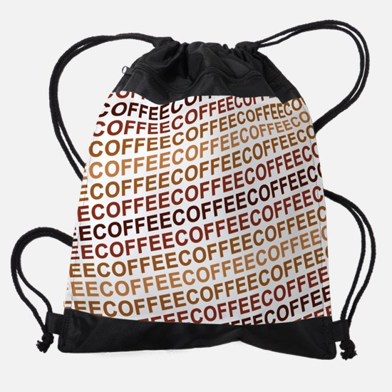 Coffee Coffee Coffee Drawstring Bag