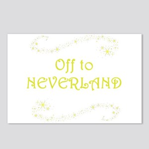 Off to Neverland Postcards (Package of 8)