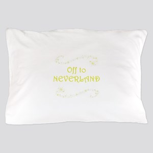 Off to Neverland Pillow Case