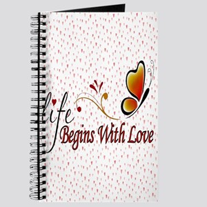 Life Begins with Love Journal