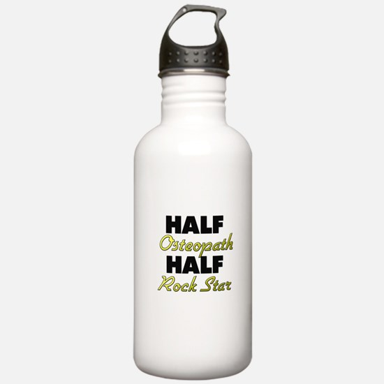 Half Osteopath Half Rock Star Water Bottle