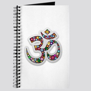 Om Aum Namaste Yoga Symbol Journal