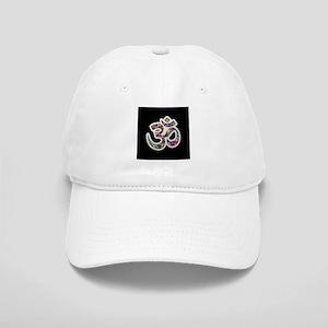 Om Aum Namaste Yoga Symbol Baseball Cap