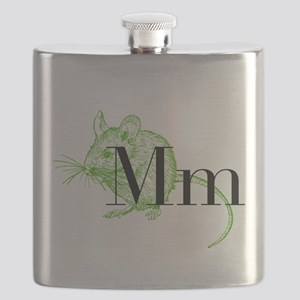 M is for Mouse Flask
