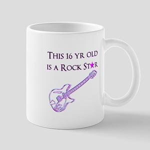 16TH ROCK STAR Mug