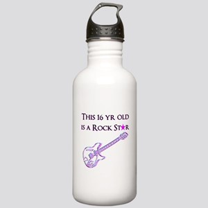 16TH ROCK STAR Stainless Water Bottle 1.0L