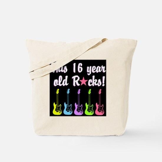 ROCK STAR 16TH Tote Bag