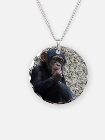 Chimpanzee003 Necklace