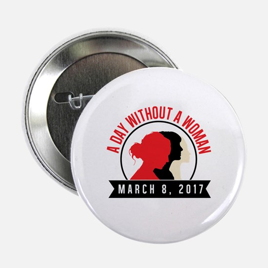 """Funny Womens holiday 2.25"""" Button"""