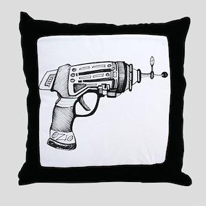 Raygun Throw Pillow