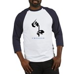 Freedom (Kanji Character) Baseball Jersey