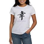 Happiness (Kanji Character) Women's T-Shirt