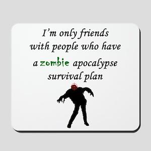 Zombie Plan Mousepad