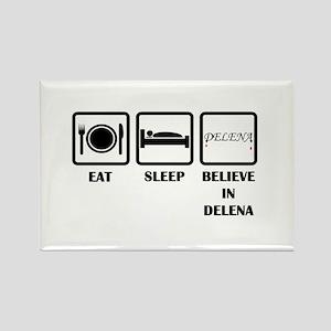 Eat Sleep Delena Magnets